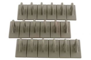 Power Tec 92348 Grey Multipads 6x50 Pack of 3